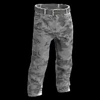 Snow Camo Pants Rust Skin