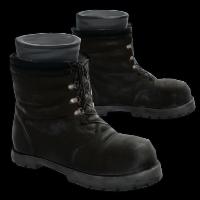 Black Boots Rust Skin