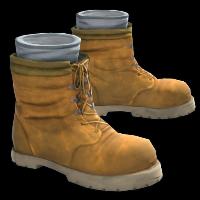 Tan Boots Rust Skin