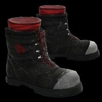 Punk Boots Rust Skin