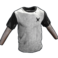 Baseball Tshirt Rust Skin