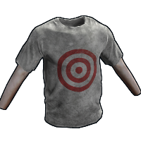 Target Practice T-Shirt Rust Skin