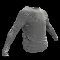 Grey Longsleeve T-Shirt Rust Skin