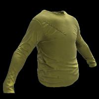 Yellow Longsleeve T-Shirt Rust Skin