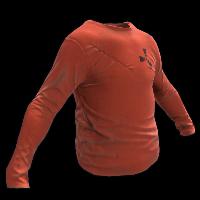 Orange Longsleeve T-Shirt Rust Skin