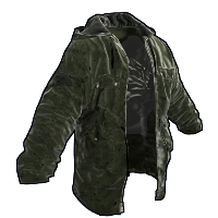 Rust Green Jacket Skins