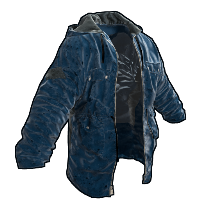 Blue Jacket Rust Skin