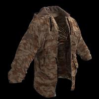 Desert Jacket Rust Skin