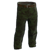 Forest Camo Pants Rust Skin