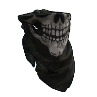 Skull Bandana Rust Skin