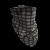Checkered Bandana Rust Skin