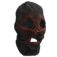 Nightmare Balaclava Rust Skin