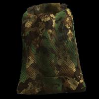 Wood Camo Sleeping Bag Rust Skin