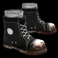 Scavenged Sneaker Boots Rust Skin