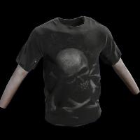 Skull & Bones TShirt Rust Skin