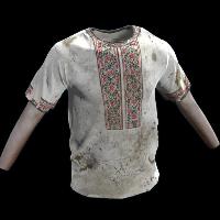 Vyshyvanka Shirt Rust Skin