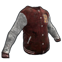 Varsity Jacket Rust Skin