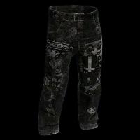 Punk Rock Pants Rust Skin