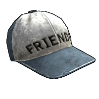 Friendly Cap Rust Skin
