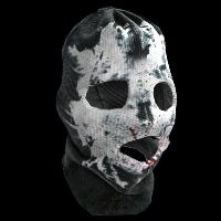 Rorschach Skull Rust Skin