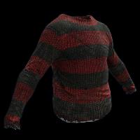 Nightmare Sweater Rust Skin