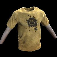 Smile T-Shirt Rust Skin
