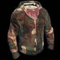 Bloody Hoodie Rust Skin