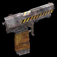 Contamination Pistol Rust Skin