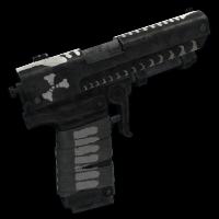 Reaper Note Pistol Rust Skin