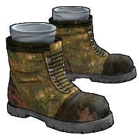 Army Boots Rust Skin