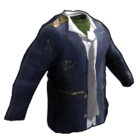 Rust Salvaged Shirt, Coat and Tie Skins