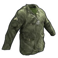 Rust 60's Army Jacket Skins
