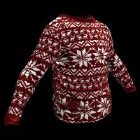Christmas Jumper Rust Skin
