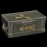 Ammo Wooden Box
