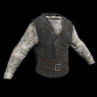 Pirate Vest & Shirt Rust Skin