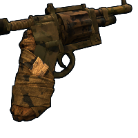 Outback revolver Rust Skin