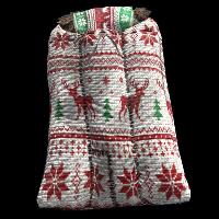 Christmas Bag Rust Skin