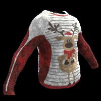 Merry Reindeer Rust Skin