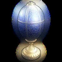 Rustigé Egg - Blue