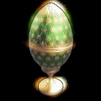 Rustigé Egg - Green