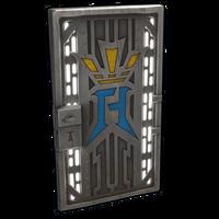 Alexby Metal Door