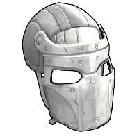 Whiteout Facemask Rust Skin