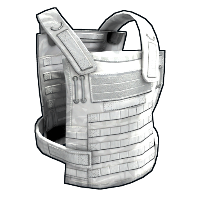 Whiteout Chestplate Rust Skin