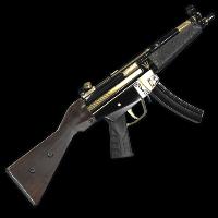 Poseidon MP5 Rust Skin