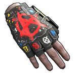 Bombing Roadsign Gloves icon