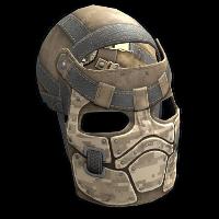 Desert Raiders Facemask