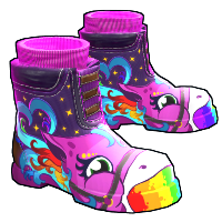 Rainbow Pony Boots