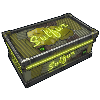 Neon Sulfur Storage