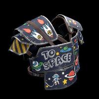Space Raider Roadsign Vest