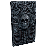 Death Metal Door